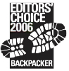 editors choice 2006 backpacker