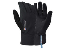 Montane Via Trail Glove black - běžecké softshellové rukavice 288fe156df