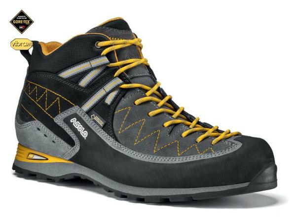 5affb6826ed Asolo Jumla GV MM graphite grey - sportovní boty pro via feráty ...