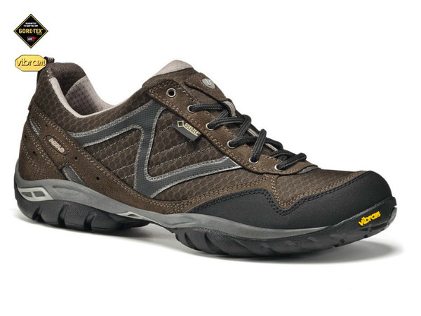 Asolo Rebel GV MM tmavě hnědá - pánské nízké trekové boty ... c84412dc29