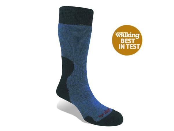 3b8ec8197b6 Bridgedale MerinoFusion Summit W Storm Blue - teplé dámské ponožky ...