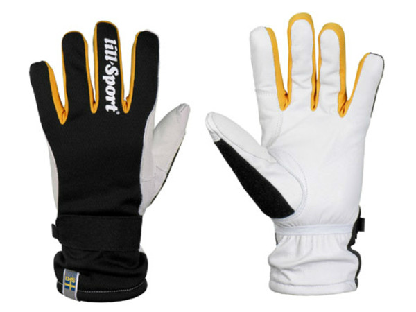 Tréninková zateplená rukavice vyrobená ve hřbetové části z větruodolného  materiálu Isowind® 9d6d13eeb4