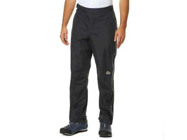 f7f4dbcb802 Lowe Alpine Cordilla Pant Black - pánské nepromokavé kalhoty ...