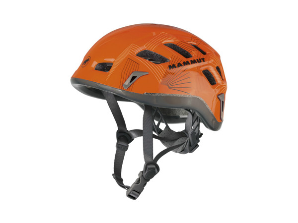 Mammut Rock Rider Men orange-smoke - horolezecká přilba ... 322a5308bd3