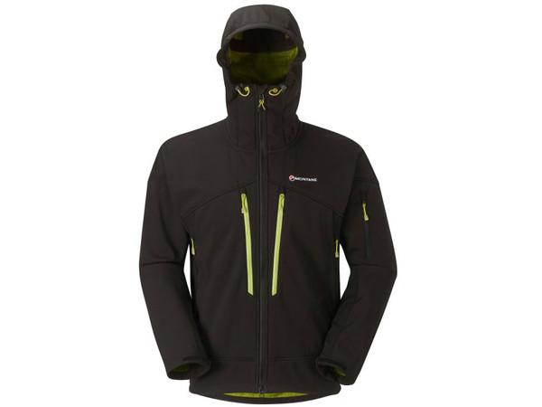 Montane Tigertooth Pro Jacket Black - pánská zimní softshell bunda ... 6e86b0273a