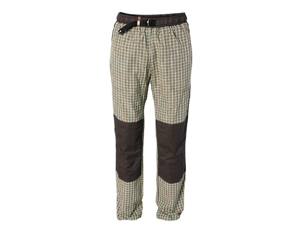 a61f289a5744 REJOICE MOTH K183 U54 hnědá kostka - plátěné kalhoty rejoicky ...