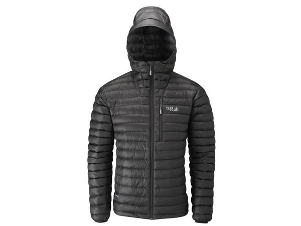 Rab Microlight Alpine Jacket Black Shark pánská péřová bunda ... e4abb14565