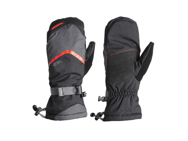 Rab Storm Mitt Black pánské voděodolné rukavice - PandaOutdoor.cz 443841787f