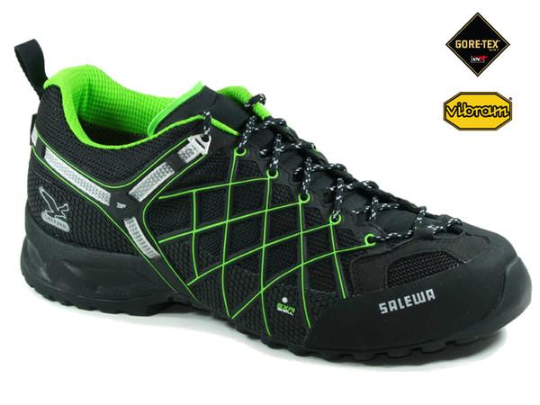 Salewa MS WILDFIRE GTX Black Emerald - pánské boty + doprava zdarma ... 148fb76a89