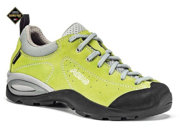 193fd491e43 Asolo Decker GTX green lime - dětské sportovní boty s membránou ...