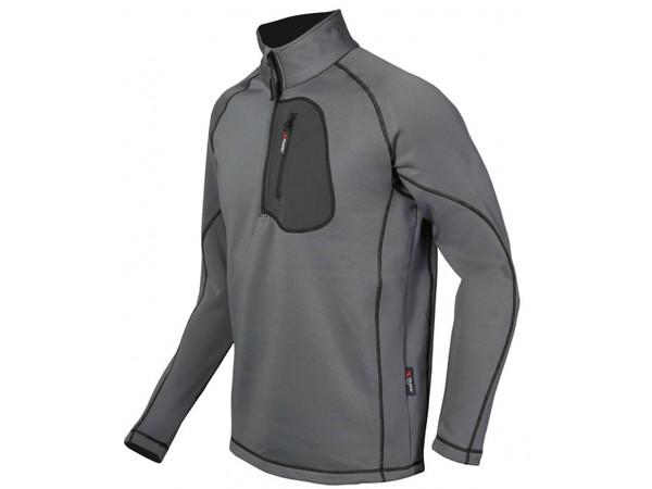 Milo IDE Jacket charcoal black - pánská funkční mikina Polartec ... e36296dc71