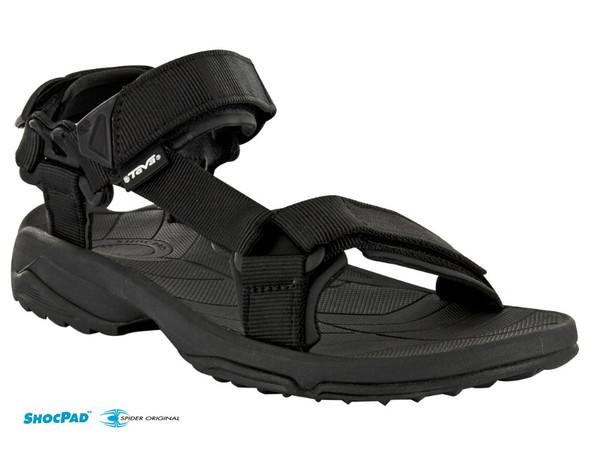622051434a15 Teva Terra Fi Lite 1001473 BLK - pánské sandály - PandaOutdoor.cz