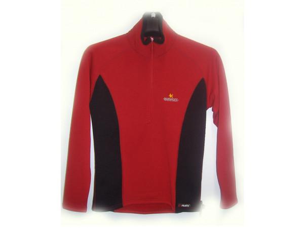 Warmpeace CORTINA Pulover molten red black - dámská bunda Polartec ... 2a17d3d3ed