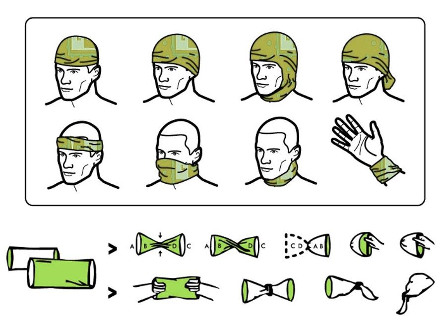 4Fun je multifunkční tubusový šátek (100% tkaný Polyester) s moderním  autorským designem. Chrání hlavu d18c5f33dc