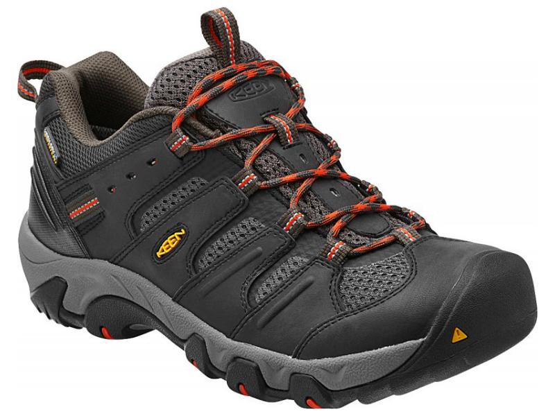 KEEN Koven Low WP Raven Red Clay - pánské nízké trekové boty ... d60748ae85