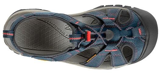 2d68b492b0a Oblíbené dámské hybridní vzdušné outdoorové sandále Keen Venice H2 se  vyznačují otevřeným páskovým designem a podrážkou s vícesměrným vzorkem.