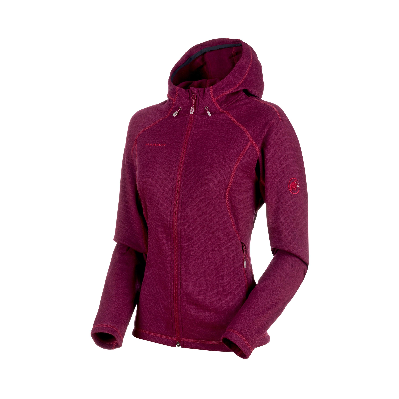 b57b24b66d Mammut Runbold ML Hooded Jacket Women beet melange. ČÍSLO ZBOŽÍ  PND01180.  DOPRAVA ZDARMA