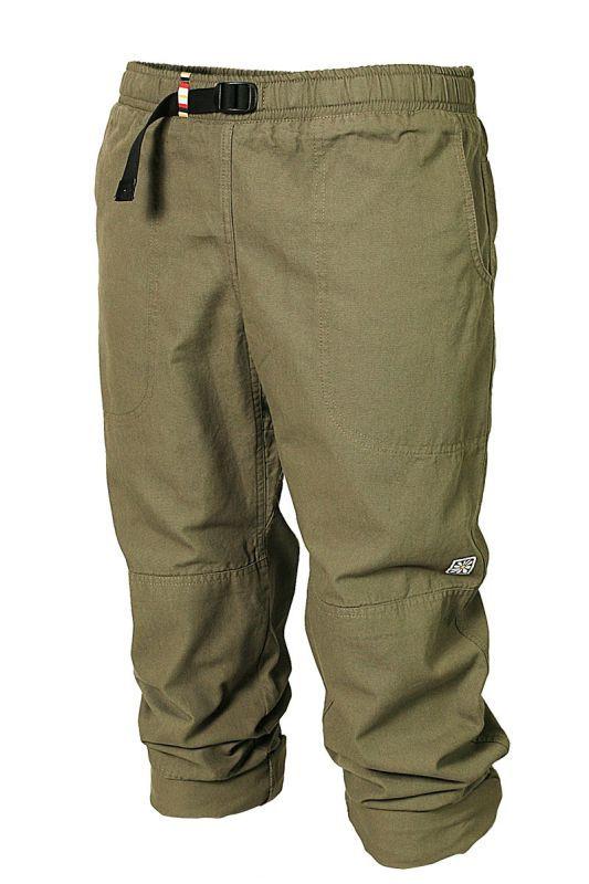 Originální Rejoice plátěné unisex kalhoty se záplatami. Funkčnost zvyšuje  ergonomicky řešený klín a zdvojená látka na kolenou a sedací části. 6067515897
