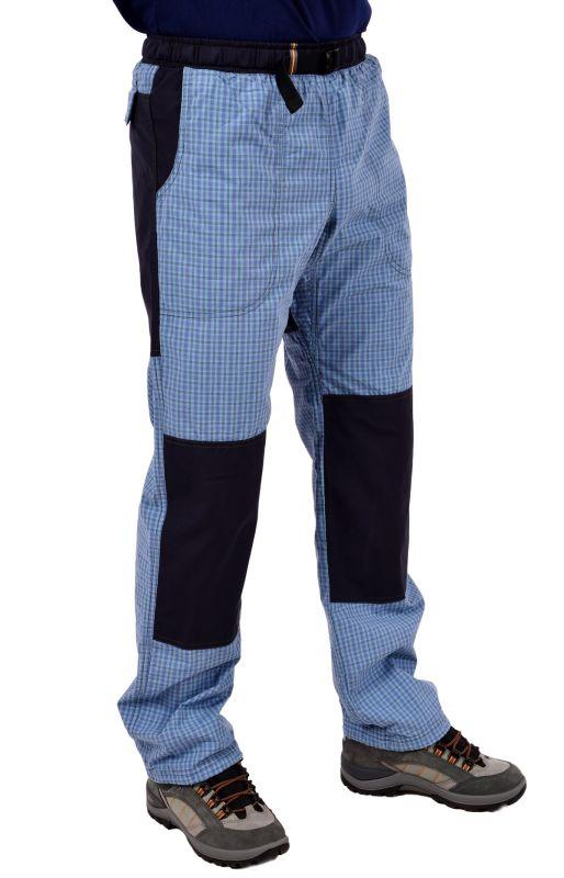 REJOICE MOTH K179 U56 modrá kostka - plátěné kalhoty rejoicky ... 65f64821ae