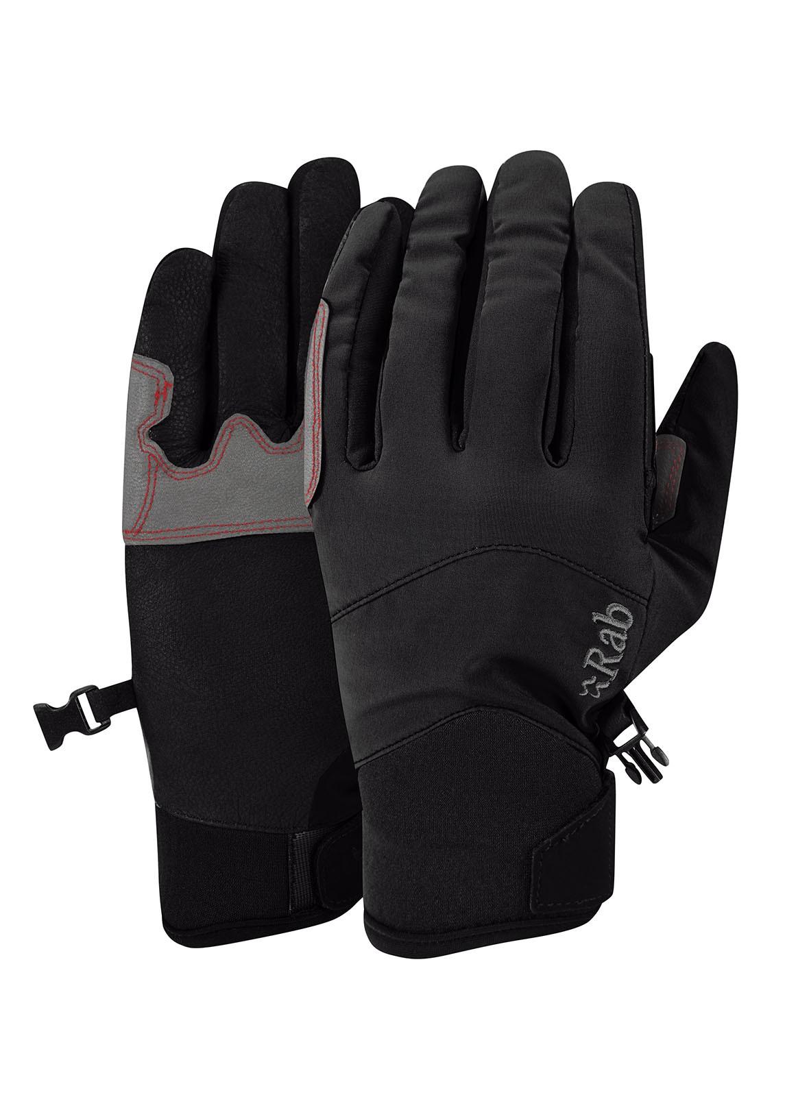 Rab M14 Glove Black pánské softshellové lezecké rukavice ... ebd7712d25