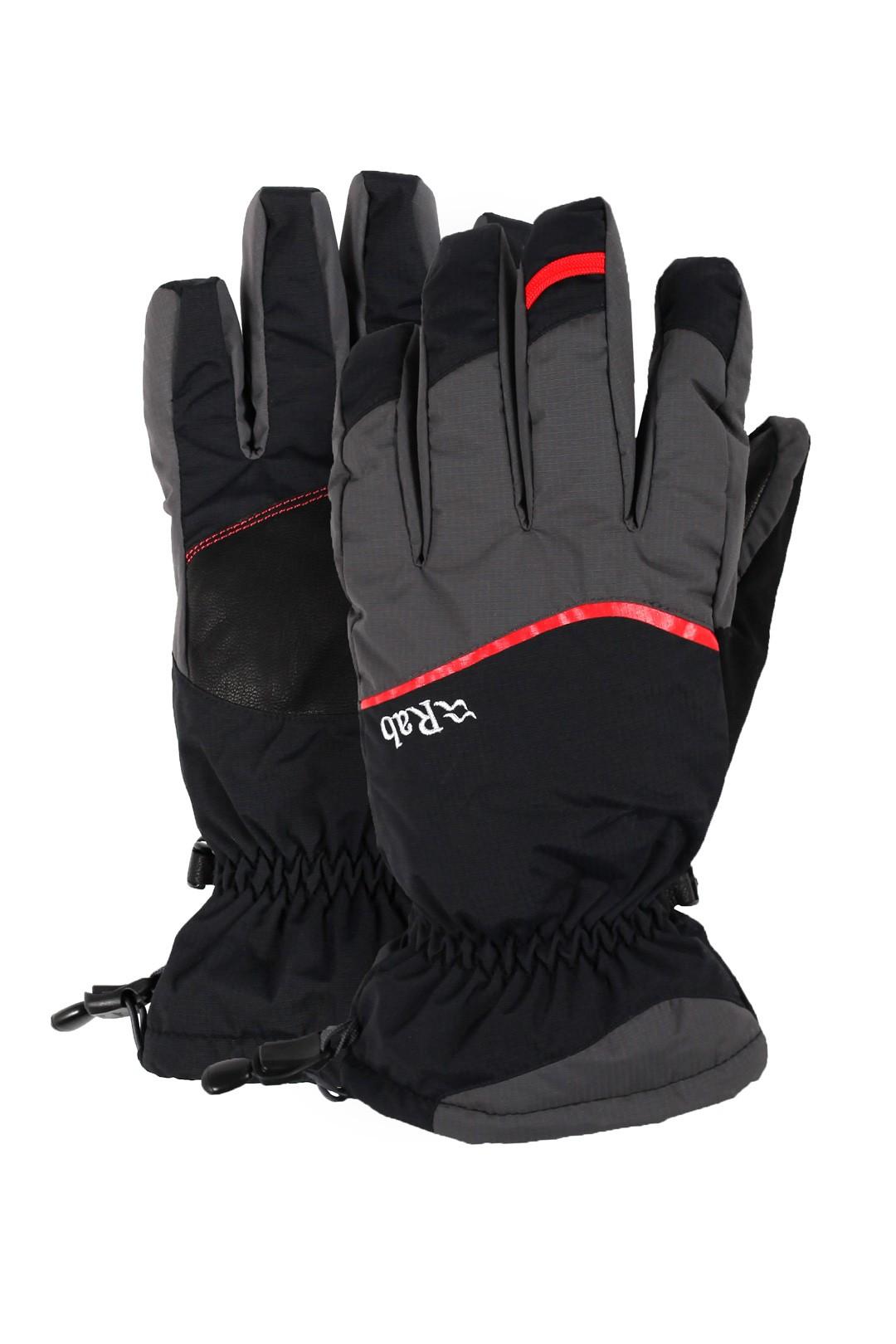 Rab Storm Glove Black pánské vodotěsné rukavice - PandaOutdoor.cz 763ed4f345