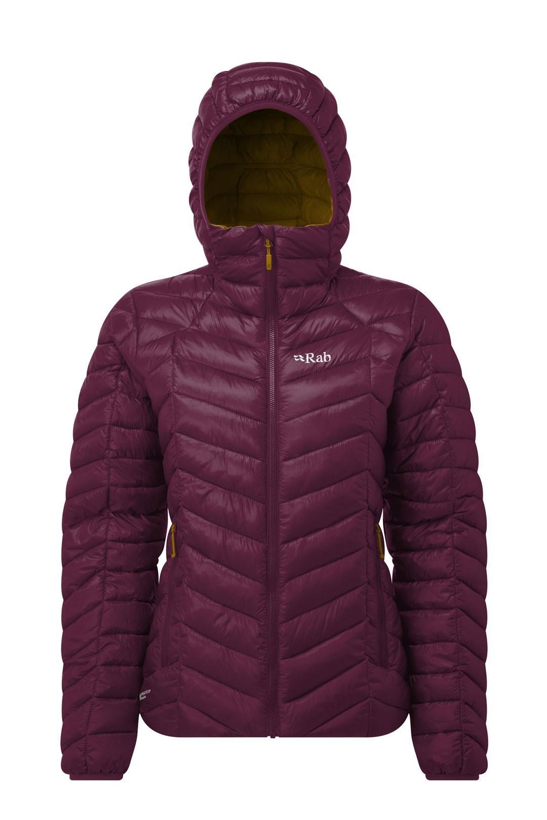 Rab Womens Nimbus Jacket 2018 Eggplant Footprint D 225 Msk 225