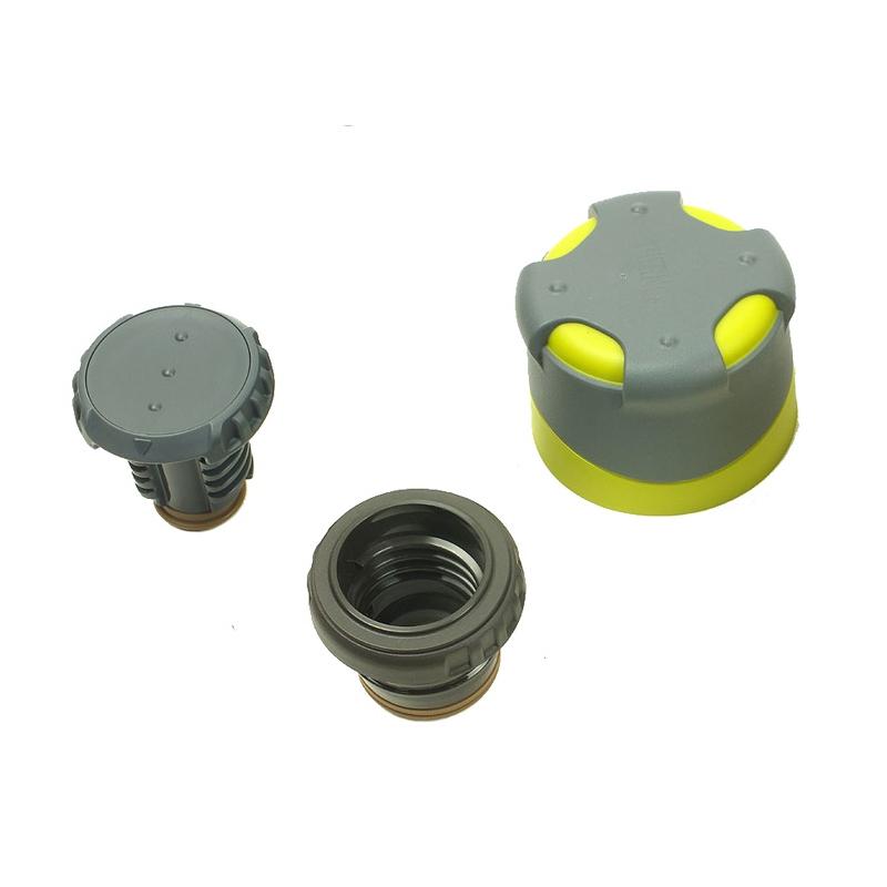 Velmi lehká nerezová vakuově izolovaná termoska s dvojitým uzávěrem o  objemu 500 ml do extrémního prostředí - stříbrné provedení. 2cfdb65dac5