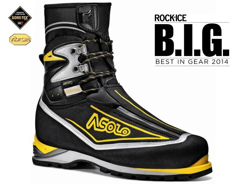 Asolo Eiger GV MM black yellow - horolezecké boty pro lezení v ledu 1db3404d9d
