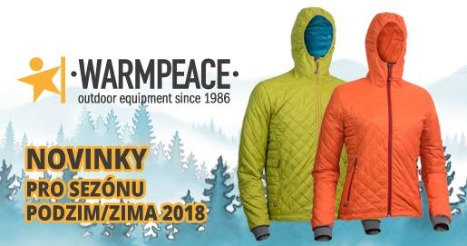 Novinky Warmpeace PODZIM ZIMA 2018 - PandaOutdoor.cz dd09cdc2f2