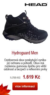 Head HV1092002 Hydroguard black pánské boty